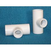 Tee SxSxT Sch 40 PVC
