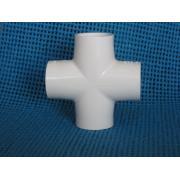 Cross SxSxSxS Sch 40 PVC